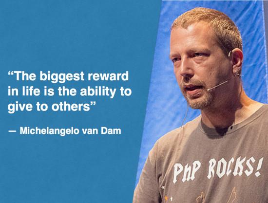 Michelangelo van Dam The PHP Ninja Turtle & PHP Community Evangelist