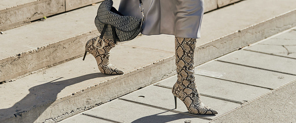 Stampa snake per l'inverno