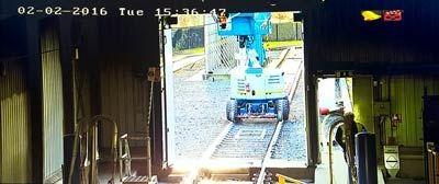 Rail Depot CCTV Installation