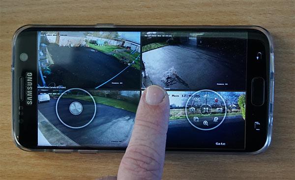 iVMS-4500 Mobile App Full Screen Sample Image HIKVision
