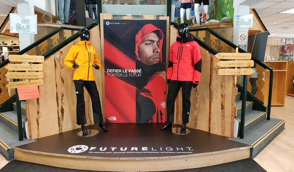 Deploiement campagne north face oct 2019