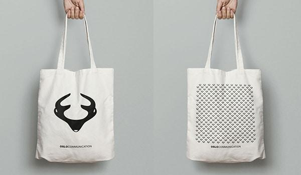 Tote bag oslo communication