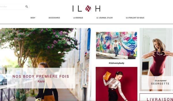 Site ecommerce ilohbody com r