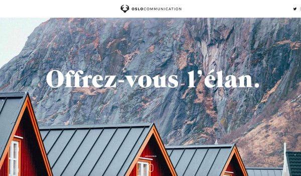 Site web oslocommunication fr r