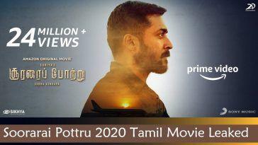 Soorarai Pottru 2020 Tamil Full Movie Free Download tamilrockers