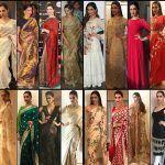 Deepika's collection of Indian saree