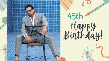 Abhishek Warm Wishes on his 45th Birthday