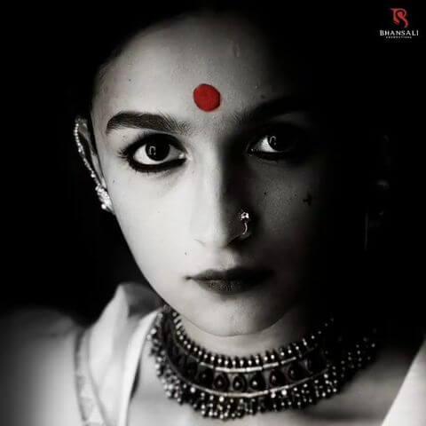 Alia as Gangubai