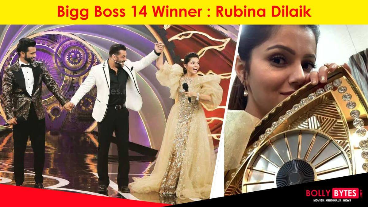Bigg Boss 14 Winner Rubina Dilaik