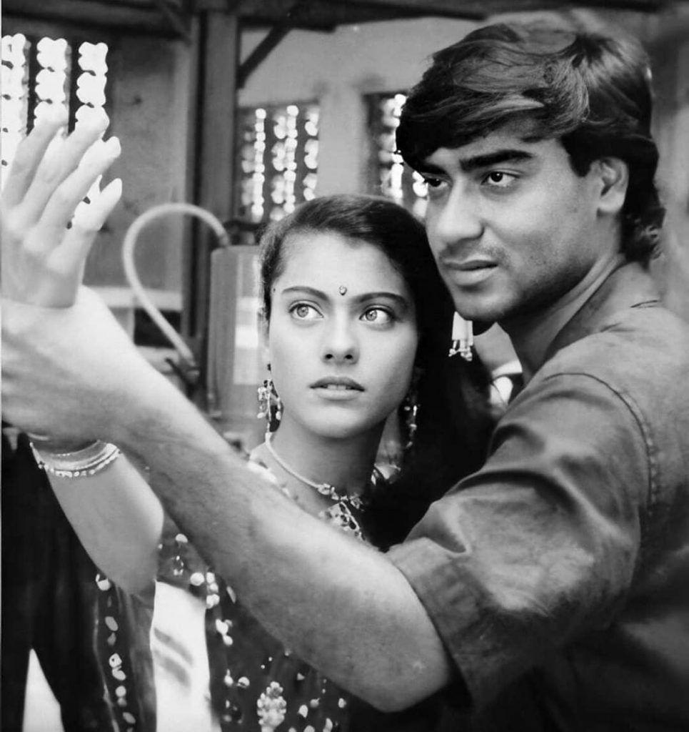 Ajay and His Lady Love Kajol