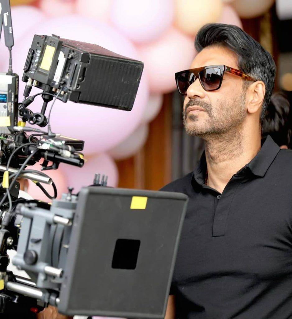 Ajay Devgn as a producer