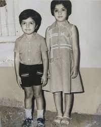 Childhood photo of Divya