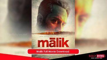 Malik Full Movie Download