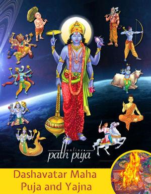 Dashavatar  God Vishnu Puja