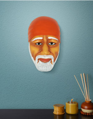 Multi-Color with Orange head kafni Lord Sai Face