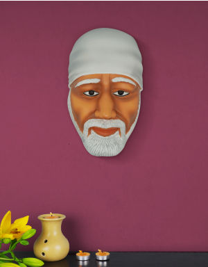 Multi-Color with White head Kafni Lord Sai Face