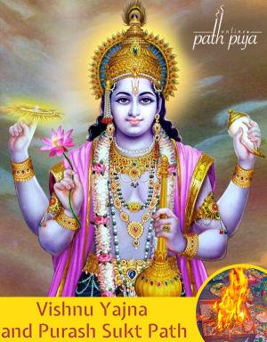 Vishnu Yajna and Purash Sukt Path