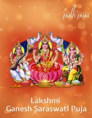 Lakshmi Ganesh Sarswati Puja