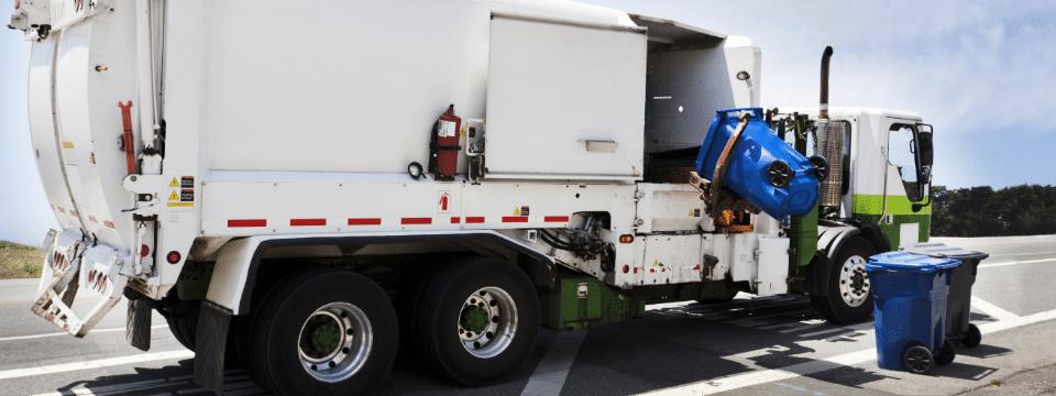 Waste disposal vehicle