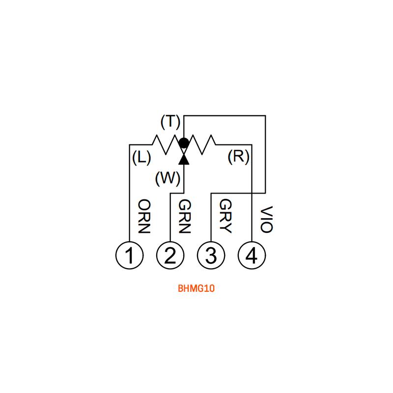 BHMG10 wiring