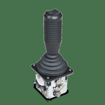 Dual axis CS1 joystick with RHS-01 handle