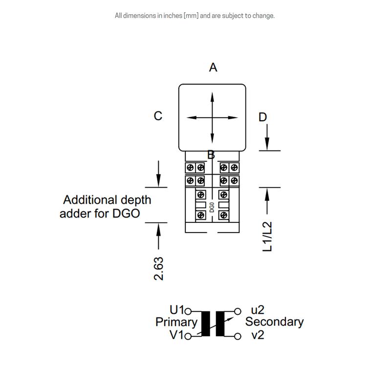 DGO dimensions