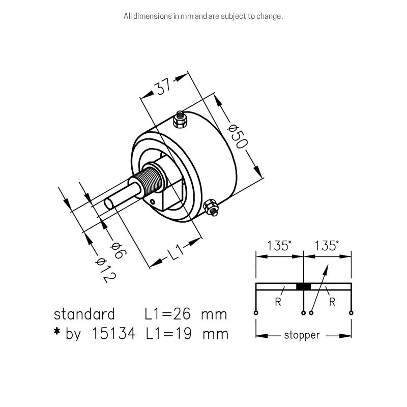 DP60 dimensions
