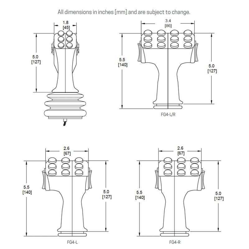 FG4 dimensions