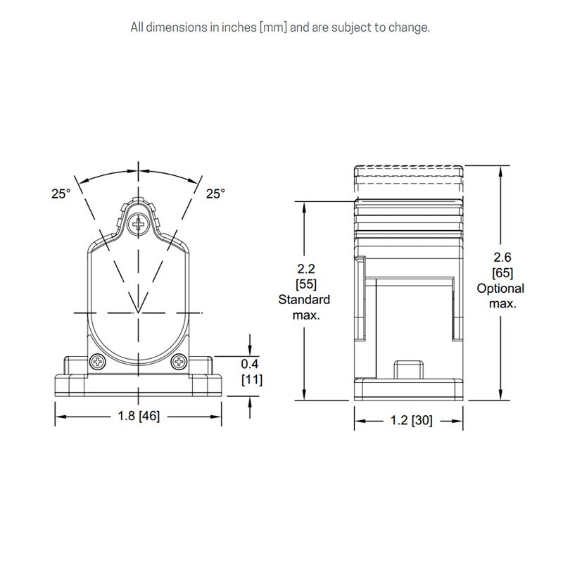 FS1 dimensions