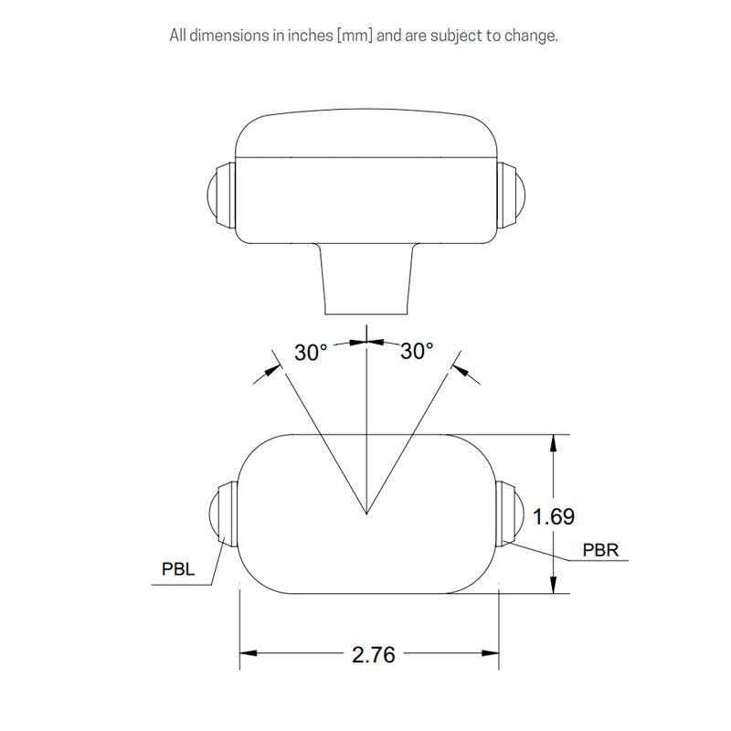 MG13 dimensions