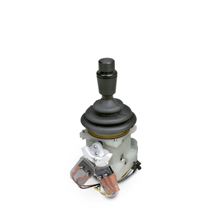 Single Axis MO mini joystick with push button handle
