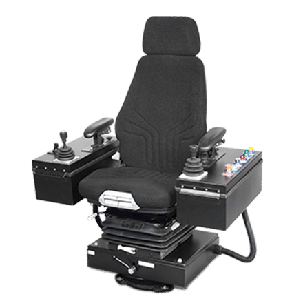 Merritt Select chair system with rotating base