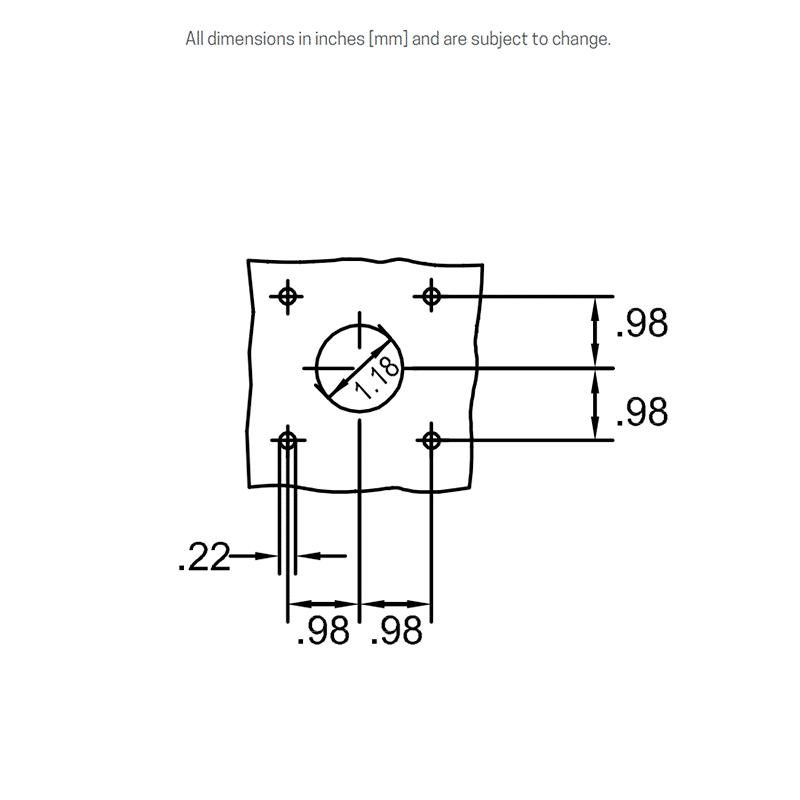 Panel mounting details