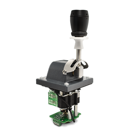 NSO-SFA with mechanical interlock, push button handle, and potentiometer output