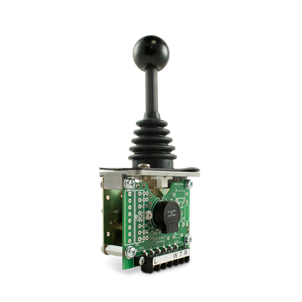 PRO-4 with round ball handle and 10K 4-wire potentiometer & microswitches