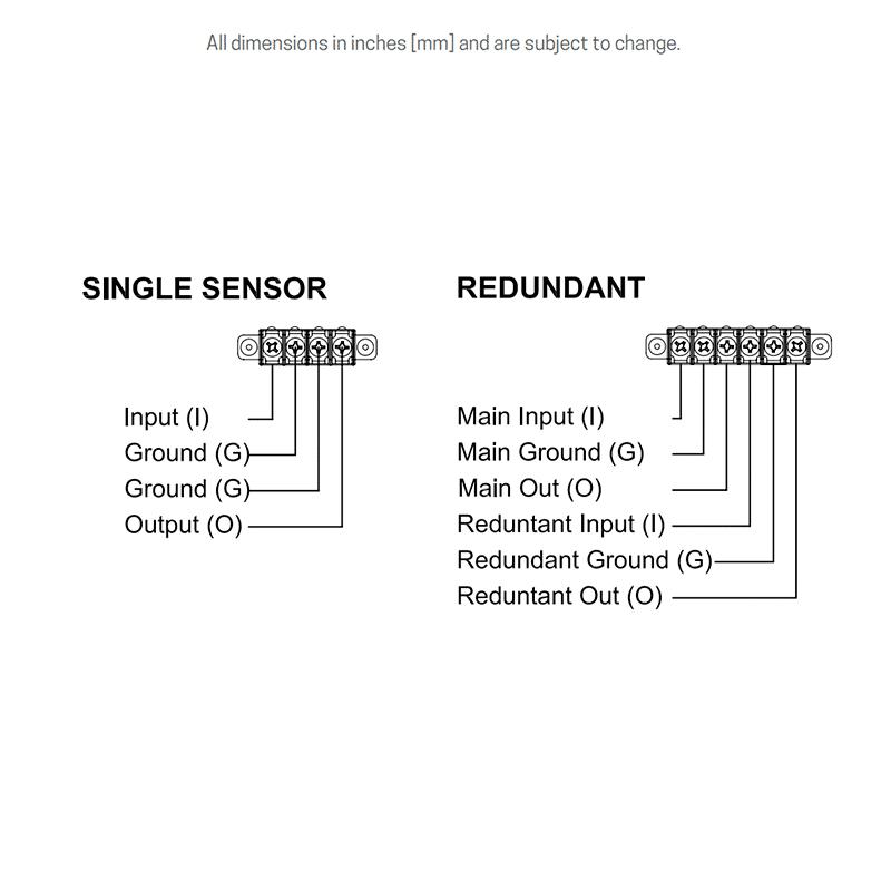 Hall-effect wiring details