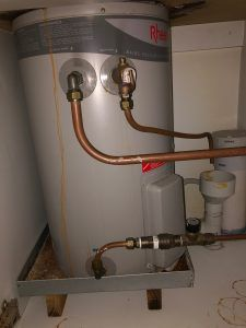 Angele'S Old Hot Water System