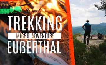 Micro-Adventure im Trekking Camp Eußerthal mit Lagerfeuer