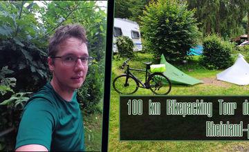Erste Bikepacking Tour - 100 Kilometer von Lingenfeld nach Erlenbach & Zurück