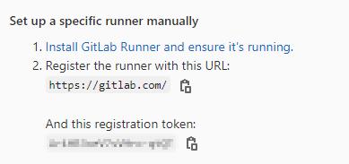GitLab Runner Settings