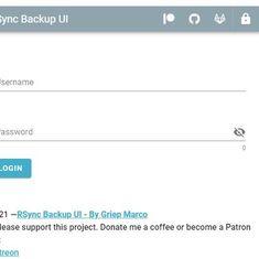 Zentrale Rsync-Backup-Überwachung mit Go-lang- und VueJS