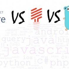 Speedtest (benchmark) zwischen C# (ASP.Core), PHP (Lumen) und Go