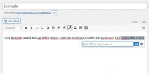 LAngkah 4 - Menuliskan URL
