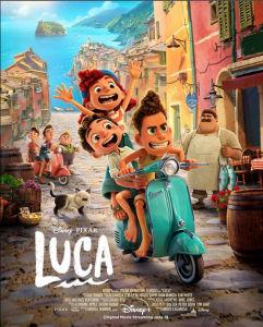 Vespa di Film Disney Berjudul Luca