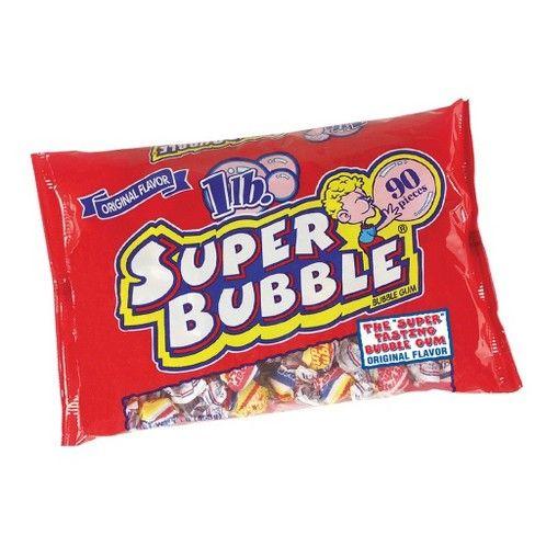 Super Bubble Gum - 16oz/90ct