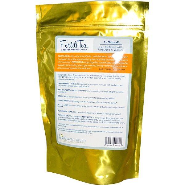 Fairhaven Health, Fertili Tea, 3 oz
