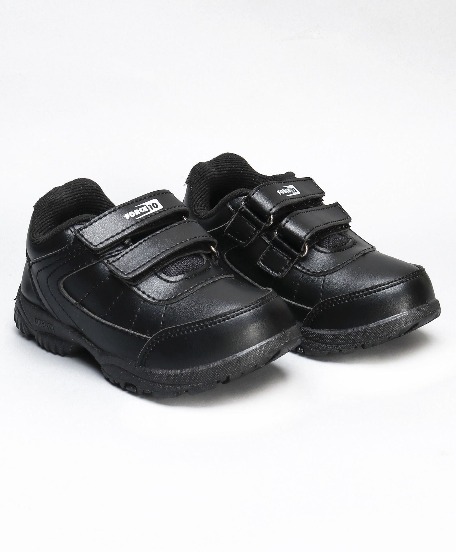 Force 10 School Shoes With Dual Velcro