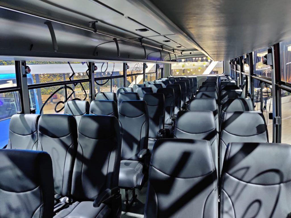 Tata Motors Starbus LNG Interior