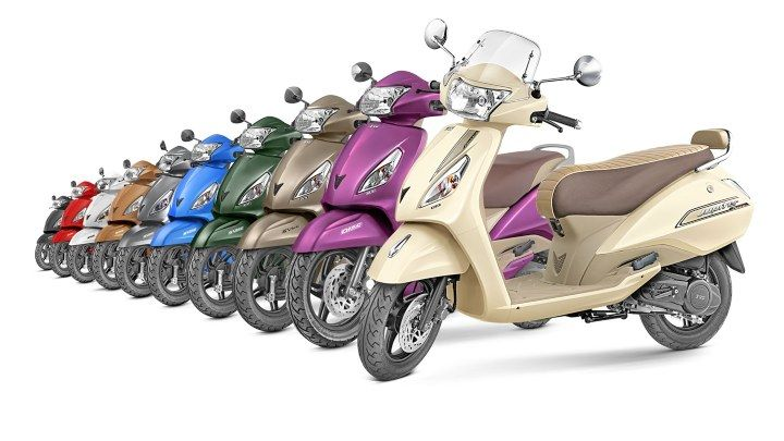 tvs bs6 scooters price in india