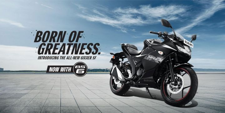 suzuki gixxer sf bs6 price in india